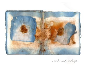 rust and indigo